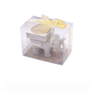 """Fashion """"Lucky Elephant"""" Resin Tea Light Candle Holder For Home Decor Wedding Favors Party Gift Supplies LX3558"""