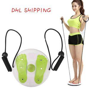 taille Fitness Twisted Plate aimant taille tortiller plaque Équilibre exercice aérobie Massage des pieds Disc Twist Conseil FY6259