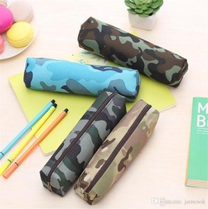 Camouflage Pencil Case For Boys And Girls School Supplies Zipper Pouch 4 Colors Pencil Bag dc782
