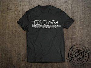 Белый логотип T Shirt - Джерри NEU Ruthless Records Old School Heller Eazy-E Compton