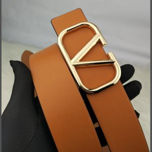 Classic fashion men's and women's belt business belt letter leisure smooth buckle belt free of charge