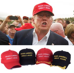 Stock DHL Shipping 2020 US Presidential Campaign Trump Peaked Cap Hats Keep America Great Slogan Baseball Cap Party Hats Gift Souvenir