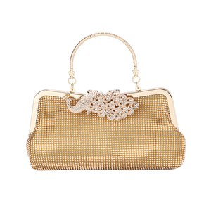2020 new ladies fashion diamond banquet bag dress cheongsam clutch bag shoulder messenger bag