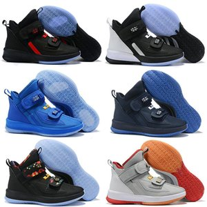Мужская Леброн Солдат XIII 13 Мода Баскетбол Обувь Спорт Солдаты 13s PULL Шнурки тапки обувь