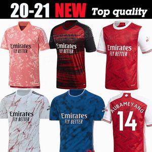 MEN дети комплекты обмундирование 2019 2020 2021 футбол Джерси наборы Арсена футбол 19 20 21 Тирни HENRY GUENDOUZI футбол рубашка футбол Вершина