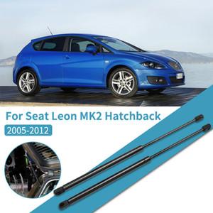 Подвеска Рулевого управления Strut Bars 2pcs задний хобот Газлифты Lift Supports Struts загрузочного Гидравлический Rod для Seat Leon MK2 2005-2012