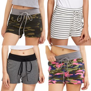 Potti doux bonbons Couleurs Shorts Femmes Sexy Push Up Shorts courtes en coton Feminino d'entraînement # 6421
