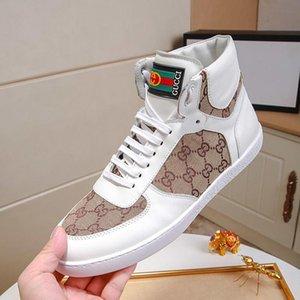Moda Uomo Scarpe Lace -Up pattini casuali di cuoio di lusso della scarpa da tennis con originali scarpe di sicurezza Scarpe De Hombre Rubber Soles Stivaletti Mens Luxur