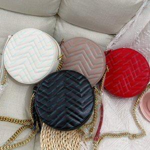Mulheres sacola Circular Bag Material Couro Moda Hadbags bolsas microfibra forro número de série sacos de ombro