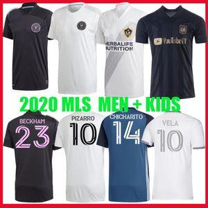INTER ميامي socer جيرسي 2020 2021 LA لوس انجليس GALAXY FC LAFC بيكهام لاعب 20 21 المشجعين نسخة قميص كرة القدم VELA MLS ميامي MEN KIDS