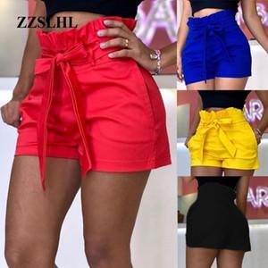 Fashion Shorts Women Plus Size Femme Summer High waist Shorts ladies Sexy Slim Short Pants Elastic Waist Loose