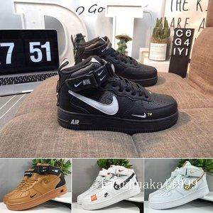 One 1 Dunk Mens Casual Shoes Chaussures Skateboarding Black White Orange Wheat Women Men High Low Designers Trainer Platform Sneaker DZCC5