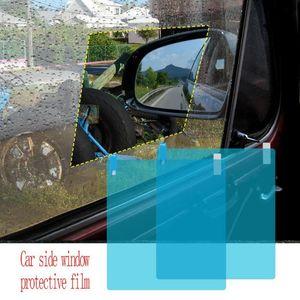 2 Pcs Car Rainproof Film Car Rearview Mirror Protective Rain Proof Anti Fog Waterproof Film Membrane Sticker Accessories
