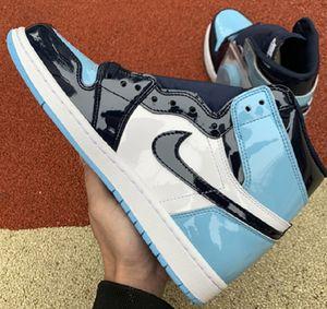 2020 air injordan1 1s OG High Basketball Shoes Pine Green Black Court Purple Zoom White Obsidian game royal UNC