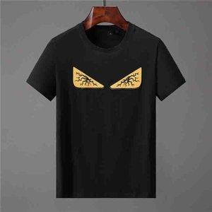 FF Stilista di moda di lusso maglietta di Hip Hop Bianco Mens Abbigliamento Camicie Casual T per gli uomini con lettere stampate TShirt Taglia M-XXXL