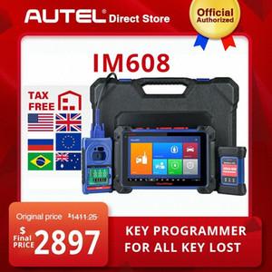 AUTEL MaxiIM 608 المع أداة أداة تشخيص IMMO السيارات ماسح السيارات لجميع مفتاح فقدت البرمجة PK IM508 gJpN #