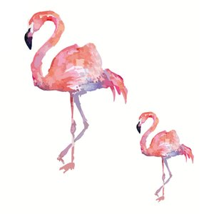Flamingo Heat Transfers Iron On Patches For Jeans T-shirt DIY Craft Stickers Applications For Clothes Decorative Appliques 47068