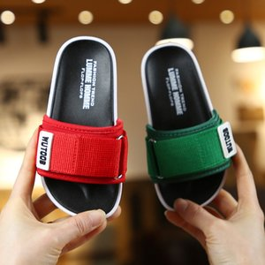 2020 Summer Slippers Kids Terlik Toddler Indoor And Outdoor Sandals Bottom Non-Slip Children Shoes Kids Slippers For Boys Baby