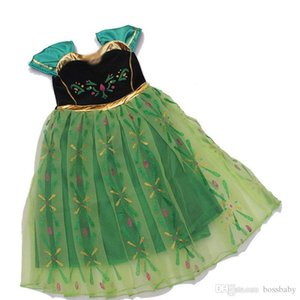 Little Girls Princess Dress Printed Flying Sleeve Gauze Ball Gown Dress Baby Girl Dresses Kids Prom Clothes Girls 3-12T 07