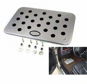 Auto Car Aluminum Floor Mat Carpet resto del piede Emblem rilievo del pedale per Kia per KIA K2 K5 Sportage K7 universale da terra con DXd8 #