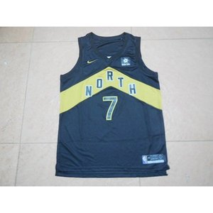 18 new jerseys Tyrannosaurus 7th LOWRY Lori fans version of the embroidered Cheap stitched Basketball jerseys
