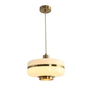 Nordic glass Pendant Lights round creative personality Suspension lamp dining room simple modern Home Lighting