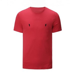 Mens wild T-shirts New Designer Short Sleeves Fashion Printed Casual Outdoor Clothes 2020 Summer 6 Colors M-3XL