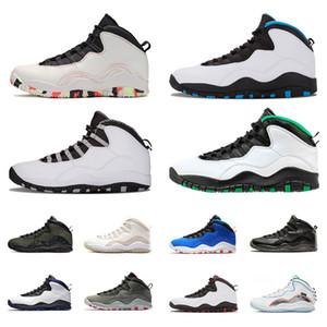 10 10s sapatos masculinos de basquete Ember Brilho Asas Woodland Camo Westbrook Class of 2006 Tinker Huarache Light Steel Grey Seattle sneakers