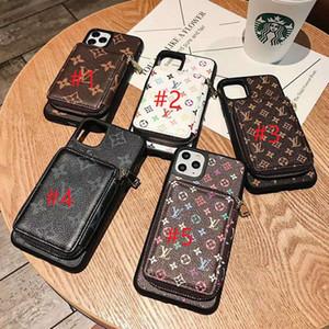محفظة الهاتف القضية للحصول على 11 برو إكسس MAX XR 7 8 زائد 12 الغلاف الخلفي حامي حالات شل يد