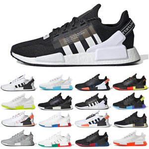 Adidas ultra boost nmd R1 V2 2020 Aqua Tones Munich R1 V2 Hommes Chaussures de course hu Human Race XR1 Pharrell Williams noyau noir Hommes Femmes sport Chaussures de sport 36-45