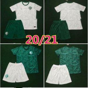 ERKEK ÇOCUK 2020 2021 Suudi Arabistan milli takım Futbol Jersey çocuk TAKIMLARI 20 21 Suudi Arabistan EDUARDO Botía Fehed El Muvelled Futbol Gömlek