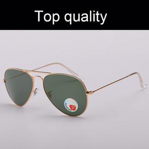 Top Aviation Quality поляризованных очки Мужчины Женщина рамка металл Качество Мужчина Mowan Солнцезащитные очки Pilot Мужские ВС очки вождение Gafas
