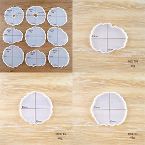 Silicone DIY Cup Mats Set The Stage Molds Manual Bakings Moulds Food Grade Durable Making Craft 3 5hj E2