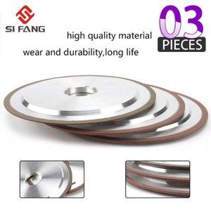 100/125 / 150/200 mm Diamant-Schleifscheibe verbessert Resin Disc Verwendung Schneiden für Wolfram Stahl-Fräser Sharpener 240 Grit