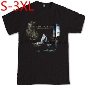 Fashion Shirt Men's MY BRIDE Gothic DYING Doom Metal Band 100% Cotton Black S-3XL