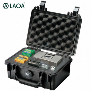 LAOA Safety Instrument Tool Box storage tools Water-proof Box Instrument And Equip Instore With Draw-Bar Without Tools z3eq#