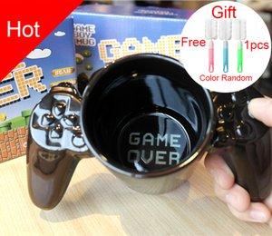 1 PC를 창조 게임 패드 컵 개인화 된 형태의 커피 우유 보이 게임 오버 머그컵 게임 패드 컨트롤러 커피 잔 생일 선물 T200104