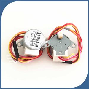 new 2pcs lot original for Air conditioning drift swing wind motor stepping motor 20BYJ46 12V 16V 20-30cm length