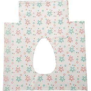 Sécurité à usage unique papier toilette non tissé Tissu imprimé étoile Fermer Tabouret Seat Cover Potty Protector Voyage Hôtel Salle de bains Accessoires 12 5cr E19