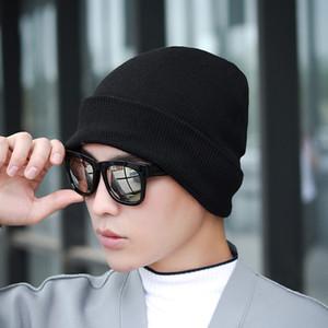 2020 Mode Chapeau d'hiver pour hommes, femmes Skullies Beanies Hiphop Mode Réchauffez Cap unisexe Elasticité bonnet en tricot Gorras Chapeaux os