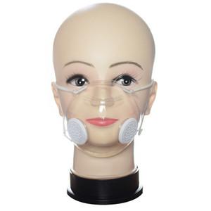 Masque transparent avec la respiration Valve sourd et muet personnes Design Masque de protection DHL Livraison gratuite