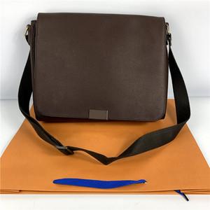 hediye çantası ile Sıcak satış BÖLGE Klasik Bez Çanta Erkekler Crossbody Çanta Damier Ebene Messenger Omuz Çantası Hobo Crossbody Kemer Çanta çanta