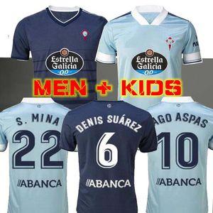 MEN + KIDS 2020 قمصان 2021 سيلتا فيغو لكرة القدم الفانيلة ياغو أسباس SANTI MINA BOUFAL كرة القدم 20 21 سيلتا الموحدة SISTO رافينيا هوغو مايو