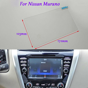 Internal Accessories 8 inch Car GPS Navigation Screen HD Glass Protective Film For Nissan Murano
