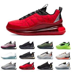 Nike air max 720-818  University Red airmax 720-818 Mens Running shoes Metallic Silver Bullet Clean White Aqua CNY 720s Black Magma Men Women Sports Designer sneakers Stock X