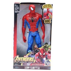 2016 Paket 4 Avengers Action Figure Bisa Menyala Hulk Iron Man Capten America Thor Kado Ultah Paket 4 Avengers Action Figure Bisa Menyala Di