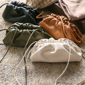 designer backpack Pouch Handbag Women Soft High Quality Fashion Clutch Bag Lady Large Ruched Cloud Shoulder Bag designer crossbody bag