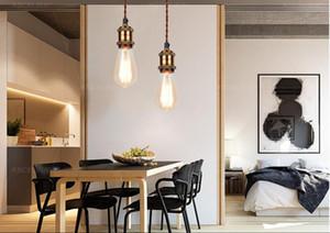 Industrial Light Pendant, Pendant Light Vintage, Metallo Consegna Lampada, Ciondolo in ferro per le lampade, bronzo