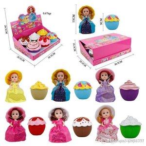 6pcs a box new lol Prom princess dolls Cake girl Transformed doll Large party dress dolls kids toys