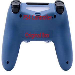 Com caixa original PS4 Wireless Controller Joystick Gamepad Controlador nenhum atraso gamepad colorido Bluetooth para Playstation 4